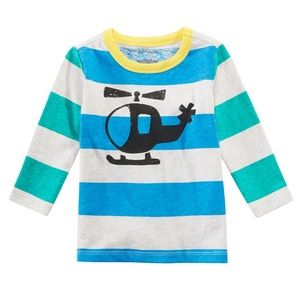 NWT Helicopter Long Sleeve Top Shirt 18mo